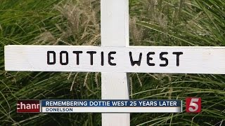 Memorial Built In Memory Of Dottie West
