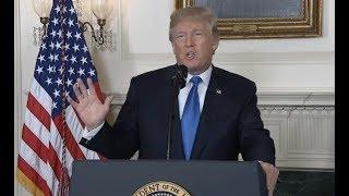 Trump Announces New Iran Policy-Full Speech