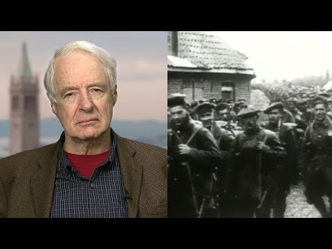 "A Century After WWI's End, Adam Hochschild Cautions: ""Think Long and Hard Before Starting a New War"""