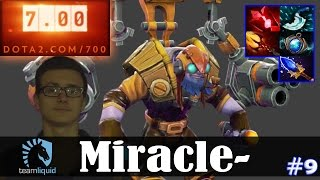 Miracle - Tinker MID | How to Fast HAND | Dota 2 Pro MMR  Gameplay #9
