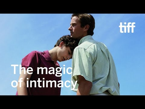 Getting intimate with Timothée Chalamet and Armie Hammer | TIFF 2018