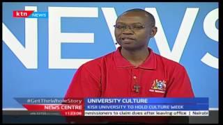 News Centre: Kisii University way of ending tribal diversities through culture week, 1/10/2013