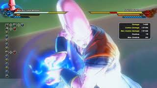 DBXV2 DLC Pack 5 Trying out Super buu combos (Plus new Ghost tech)