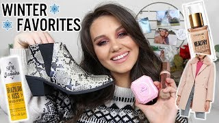 WINTER FAVORITES  - NETFLIX, BEAUTY & FASHION!