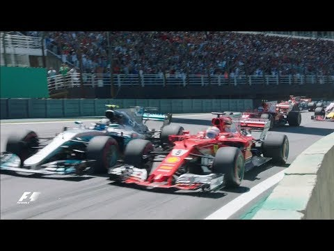 2017 Brazil Grand Prix: Race Highlights