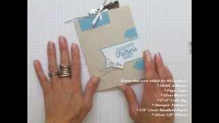 My Paper Pumpkin May 2014 Hey Man Kit - Alternate Ideas: Candy Bar Slider Card