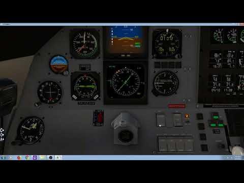 X-Plane 11 : Carenado Pilatus PC-12 : Salzburg Approach