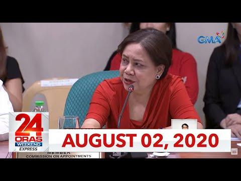 [GMA]  24 Oras Weekend Express: August 2, 2020 [HD]