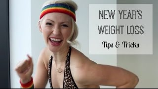 Tips to Achieve your Weight Loss New Years Resolution Goal