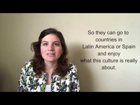 I like to teach Spanish but also I love to teach about my culture. Check out this video to learn more about me and my classes.