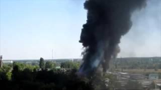 Пожар в Буче