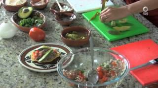 Tu cocina - Tostadas de salpicón de res