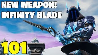 NEW INFINITY BLADE! Everything Explained! (Fortnite Battle Royale)