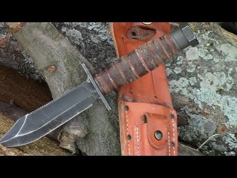 Ontario Air Force Survival Knife-FULL REVIEW- by TheGearTester