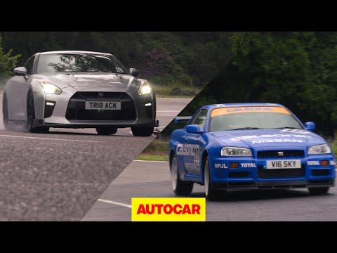 Nissan GT-R | R34 Skyline meets R35 GT-R (Litchfield) | Autocar Heroes