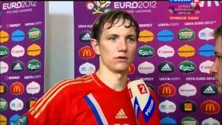Роман Павлюченко, Роман Павлюченко - интервью после первого матча на Евро 2012