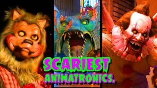 Top 6 Scariest Animatronics That Are Pure Nightmare Fuel