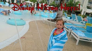 Disney Hilton Hotel~Float Lagoon Lazy River and Disney Springs!