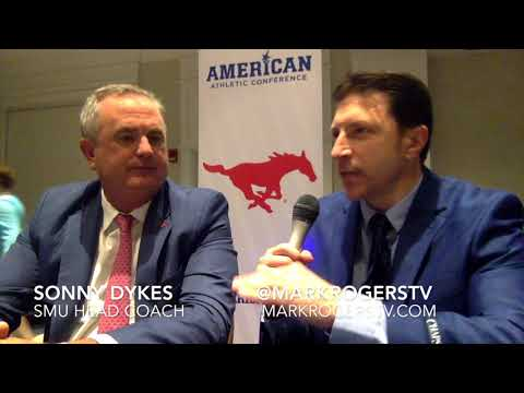 Sonny Dykes Interview - SMU Mustangs / AAC Media Days