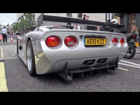 Mosler MT900 S Revving Sound!