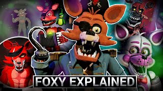 FNAF Animatronics Explained - FOXY (Five Nights At Freddys Facts)