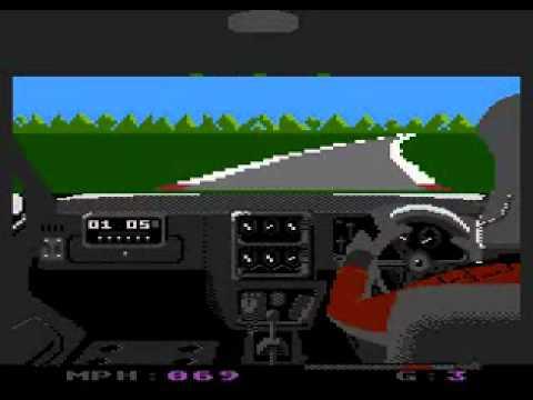 Speed Run - Atari 8-bit gameplay