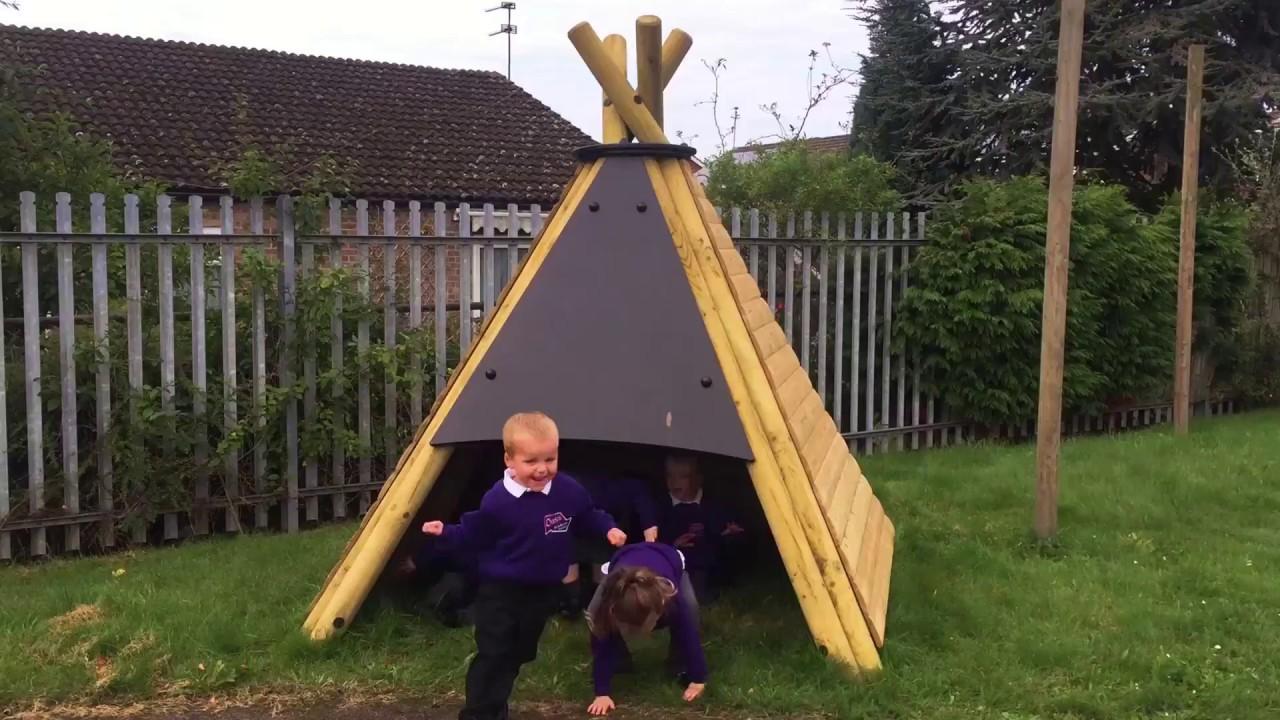 outdoor playground equipment pentagon play