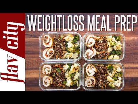 Video Weight Loss Meal Prep - Healthy Meal Prep For The Week