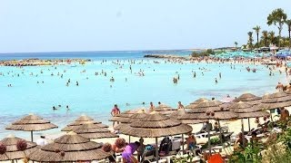 preview picture of video 'Nissi Beach Ayia Napa Cyprus'