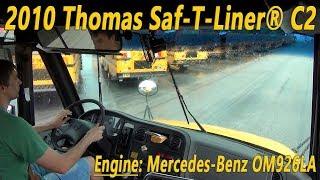 2010 Thomas Saf-T-Liner® C2 with Mercedes-Benz OM926LA Engine [BUS #0904]