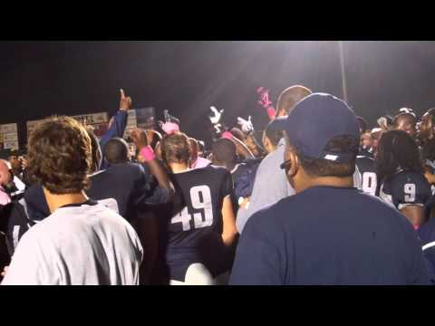 Lincoln (MO) Football Celebrates its 34-27 Win Over Nebraska-Kearney