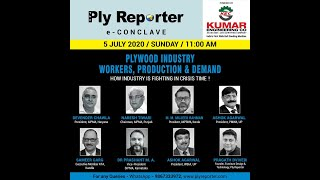 'Plywood Industry - Workers, Production and Demand - How Industry is Fighting in Crisis Time!' Powered by 'Kumar Engineering Co - India's First Wide Belt Sanding Machine'