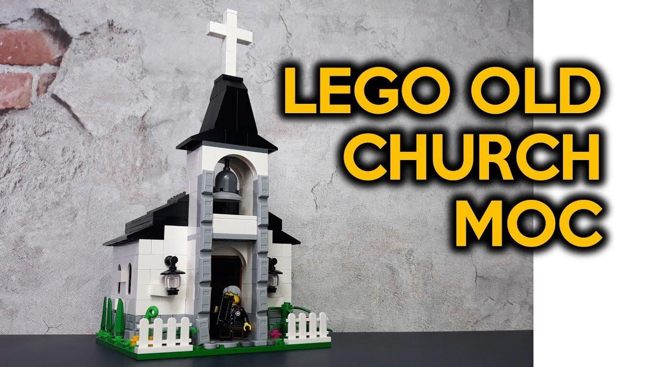 Old LEGO Church MOC