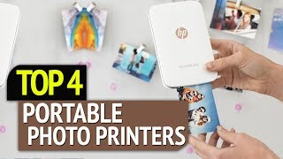 TOP 4: Best Portable Photo Printers 2019