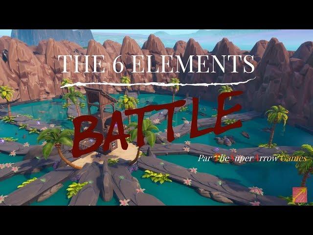 The 6 Elements Battle