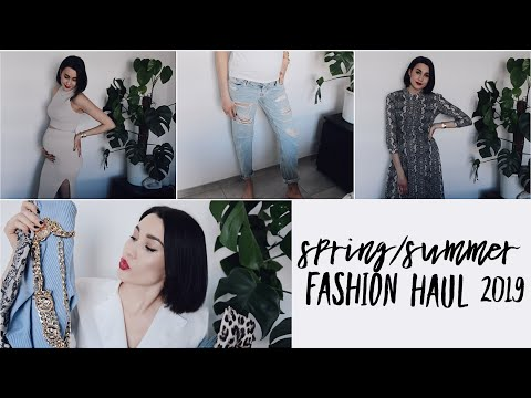 TRY ON SPRING FASHION HAUL 2019 + Umstandsmode | Xenia Maria