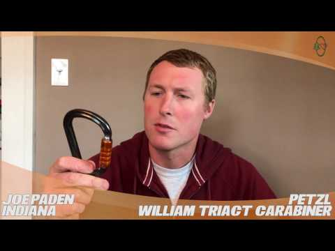 William Triact Carabiner: TreeStuff.com Customer Joe Paden's Review In The Field