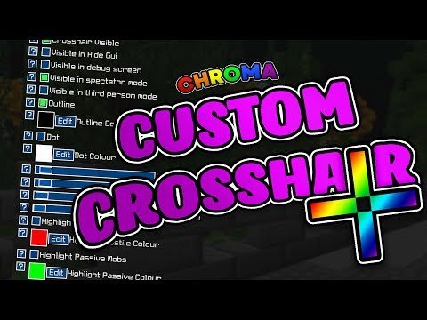 Custom Crosshair Mod Mod 1 14 4/1 13 2/1 12 2/1 11 2/1 10 2