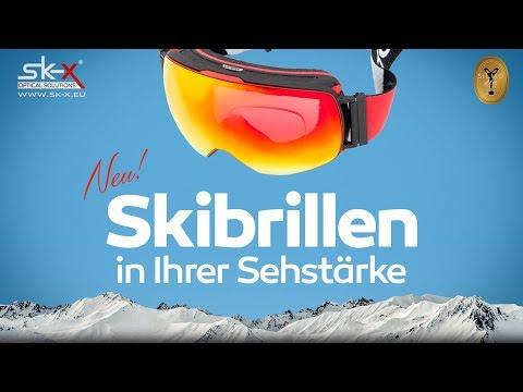 Skibrillen in Ihrer Sehstärke - Sk-X optical solutions