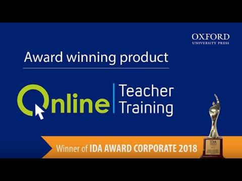 Online Teacher Training Modules by Oxford University Press ...