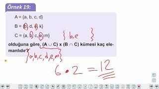 Eğitim Vadisi 9.Sınıf Matematik 6.Föy Kümelerde İşlemler 2 Konu Anlatım Videoları