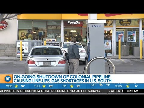 Business Report: Gas shortage in the U.S., Toyota's electric vehicle plan, U.S. casinos thrive