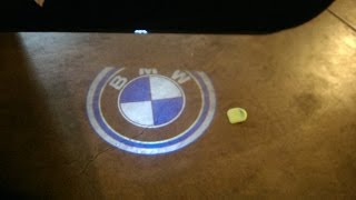 BMW Welcome Logo Light  Easy Just Plugging Install E92 Coupe 328i