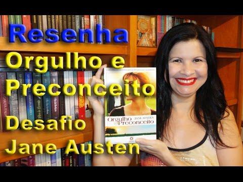 Livro Orgulho e Preconceito - Desafio Jane Austen - Por Glaucia de Paiva