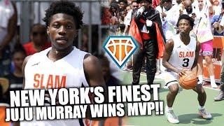 NEW YORK'S FINEST JUJU MURRAY WINS MVP AT THE SLAM CLASSIC Vol. 2!!