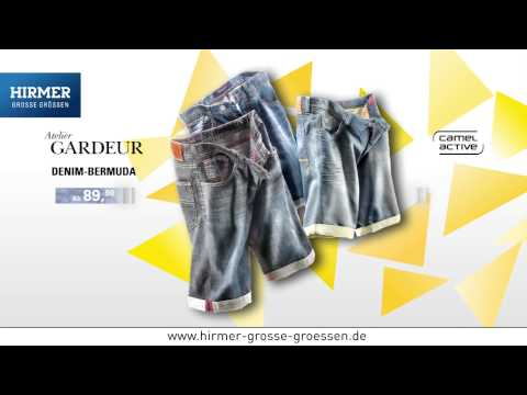 Hirmer GROSSE GRÖSSEN - Männer-Mode-Sommer 2015