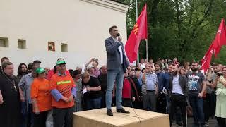 """Путина под трибунал"": активист левых сил"