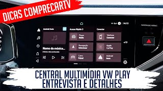 Central Multimídia VW Play (Volkswagen Nivus)