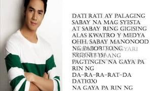 Dati Sam Concepcion Lyrics