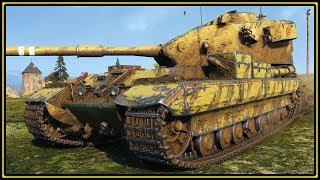FV215b (183) - 10K Damage - World of Tanks Gameplay